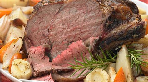 Wondering what to serve with prime rib roast? Prime Rib Roast with Autumn Vegetables   Recipe (With images)   Prime rib roast, Rib roast, Beef ...
