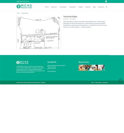 web design dallas mchs parents club web design dallas 6 i t roadmap