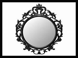 Miroir Baroque Noir : 46 ides dimages de miroir baroque noir ~ Teatrodelosmanantiales.com Idées de Décoration