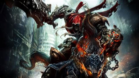 darksiders wrath of war wallpapers hd wallpapers id 8122