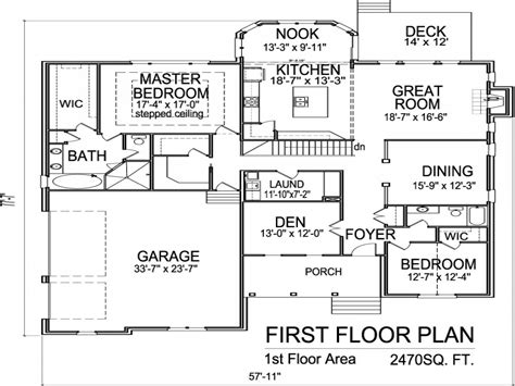 2 Story House Floor Plans With Basement 2 Story House, 1