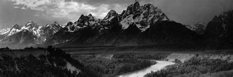 ansel adams  father  american nature photography