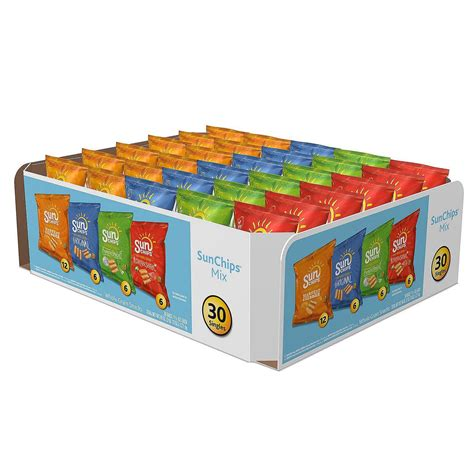 box of chips frito lay classic mix variety pack 50 count