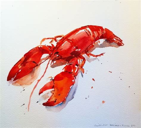 lobster paint color best 25 lobster drawing ideas on nautical