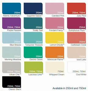 Dulux Made By Me Colour Chart Gloss Paint Color Chart