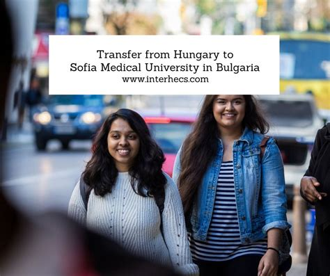 With advise and support by medigate, the agency you can trust on. Transfer to Sofia Medical University in Bulgaria and study ...