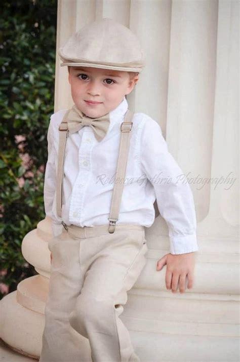 ring bearer ring bearer outfit ring bearer bowtie ring bearer suspender set bowtie and suspender set for