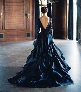 Robe De Mariée Noire : photo la robe de mari e noire ~ Dallasstarsshop.com Idées de Décoration