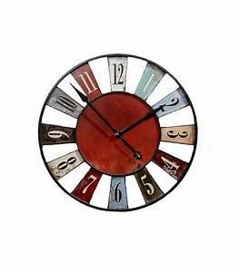 Grande Horloge Murale Originale : catgorie horloges pendule et comtoise du guide et comparateur d 39 achat ~ Teatrodelosmanantiales.com Idées de Décoration
