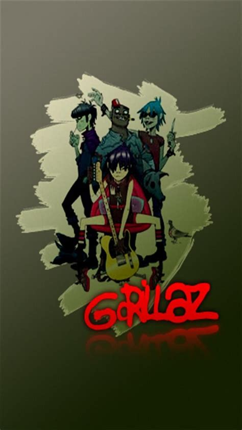 Gorillaz Iphone Wallpaper Wallpapersafari