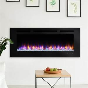 Simplifire 36-inch Built-in Electric Fireplace