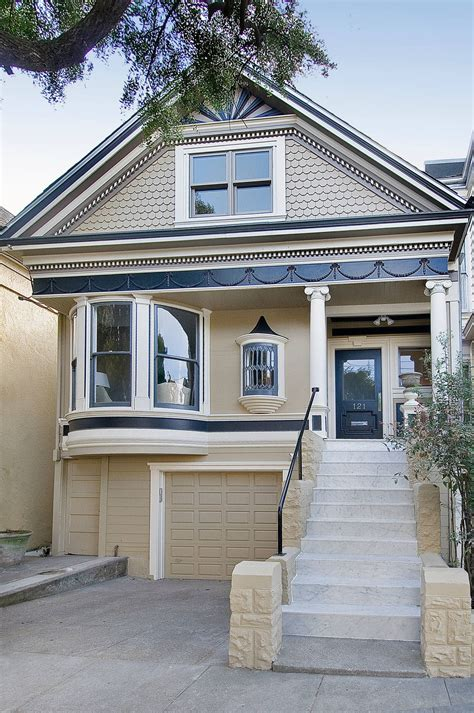 remodeled classic victorian house  san francisco