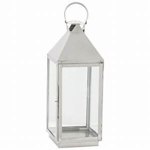 Lanterne Deco Interieur : bougeoir lanterne verre 70 cm ~ Teatrodelosmanantiales.com Idées de Décoration