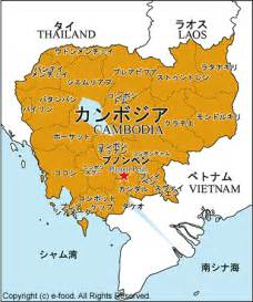 カンボジア:カンボジア地図