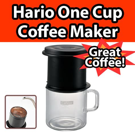 You can save by buying bulk but you're locked into that specific type of capsule in order to make use of your coffee maker. Hario One Cup Cafeor Drip Coffee Maker Compact Portable Stainless Mesh CFO-1 NEW | eBay