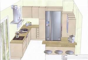 Plan De Cuisine Gratuit : plan cuisine en l plan de cuisine les diff rents types ~ Melissatoandfro.com Idées de Décoration