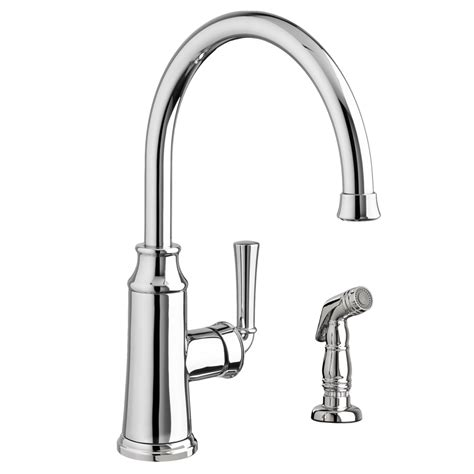 portsmouth  handle high arc kitchen faucet  side