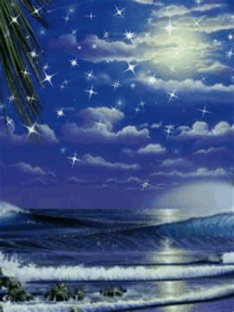 shining stars animated wallpaper mobile