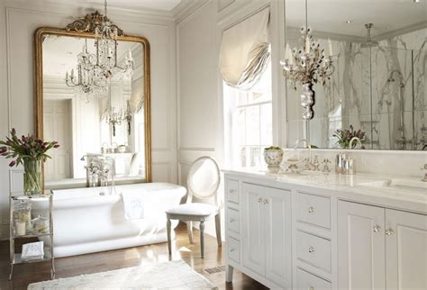 French Master Bathroom Design