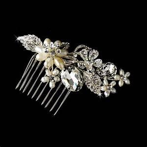 NWT Elegant Freshwater Pearl And Crystal Bridal Wedding