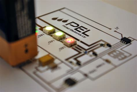 Printed Electronics Commercial Fabrication Electronic