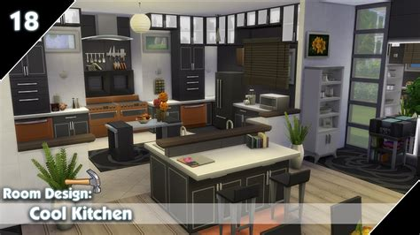 sims  room design cool kitchen youtube