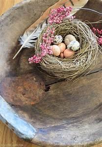 Schale Dekorieren Frühling : diy fr hlingsdeko f r schale holzschale tischdeko nat rlich fr hlingshafte deko eier oster ~ Cokemachineaccidents.com Haus und Dekorationen