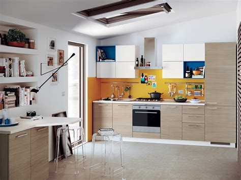 fitted kitchen urbanurban minimal scavolini easy   scavolini