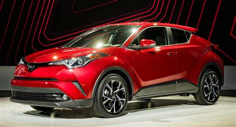 crossover cars 2018 toyota launches us spec 2018 c hr compact crossover