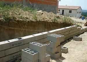 Prix Mur Parpaing Cloture : construire un muret en bois ~ Dailycaller-alerts.com Idées de Décoration