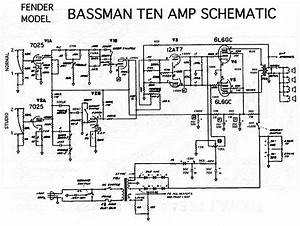 Question About Bassman 10 Pi Section