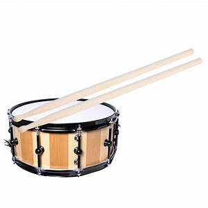 1 Pair 5a Maple Drum Sticks Wood Wooden Tip Band Musical