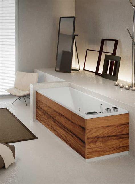 Vasche Da Bagno In Legno Vasca Rettangolare Di Design Grandform