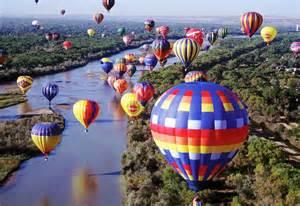 Hot Air Balloon Festival Albuquerque