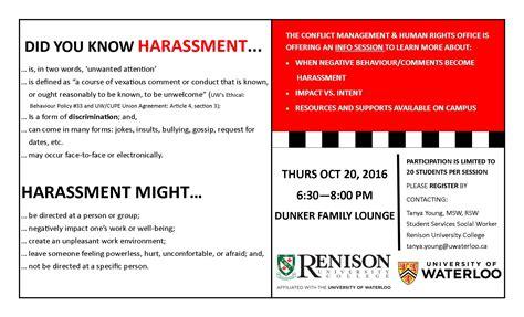 sensitivity training workshop renison university college