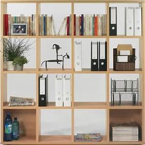 Meuble Rangement Case : meuble de rangement 16 cases cuba 16 lemondedubureau ~ Teatrodelosmanantiales.com Idées de Décoration
