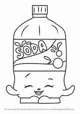 Soda Coloring Drawing Bottle Pages Shopkins Draw Template Colouring Step Printable Getcolorings Pop Sheet Sketch Coke Drawings Learn Getdrawings Pepsi sketch template