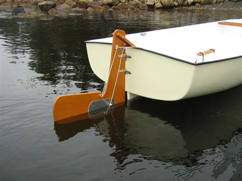 Boat Rudder by On Sausal Creek