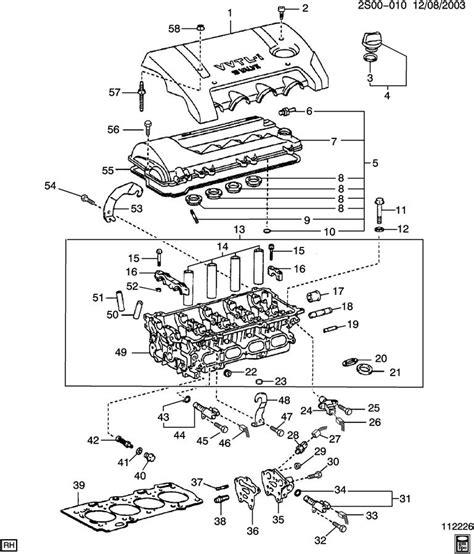 pontiac vibe engine diagram downloaddescargarcom
