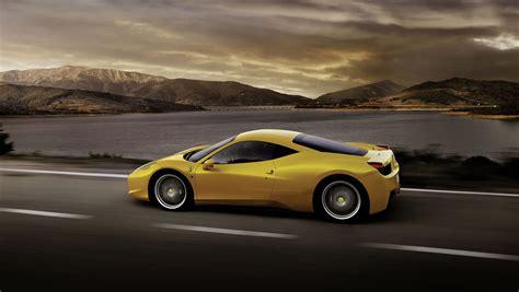HD wallpapers ferrari 458 italia yellow wallpaper