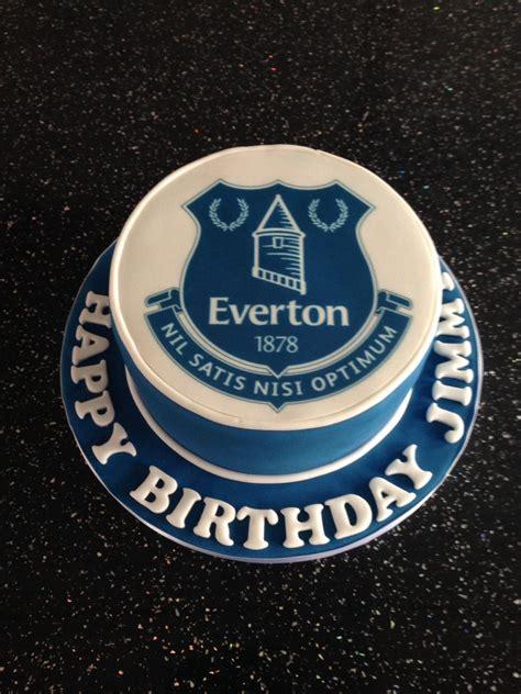 everton birthday cake party decs birthday cake cake
