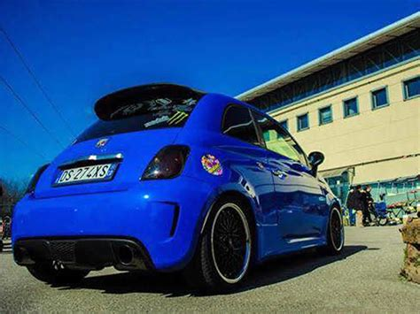 Fiat 500 Abarth Tuning by Quot Auto Fiat 500 Abarth 1 4 Tuning Quot Card From User