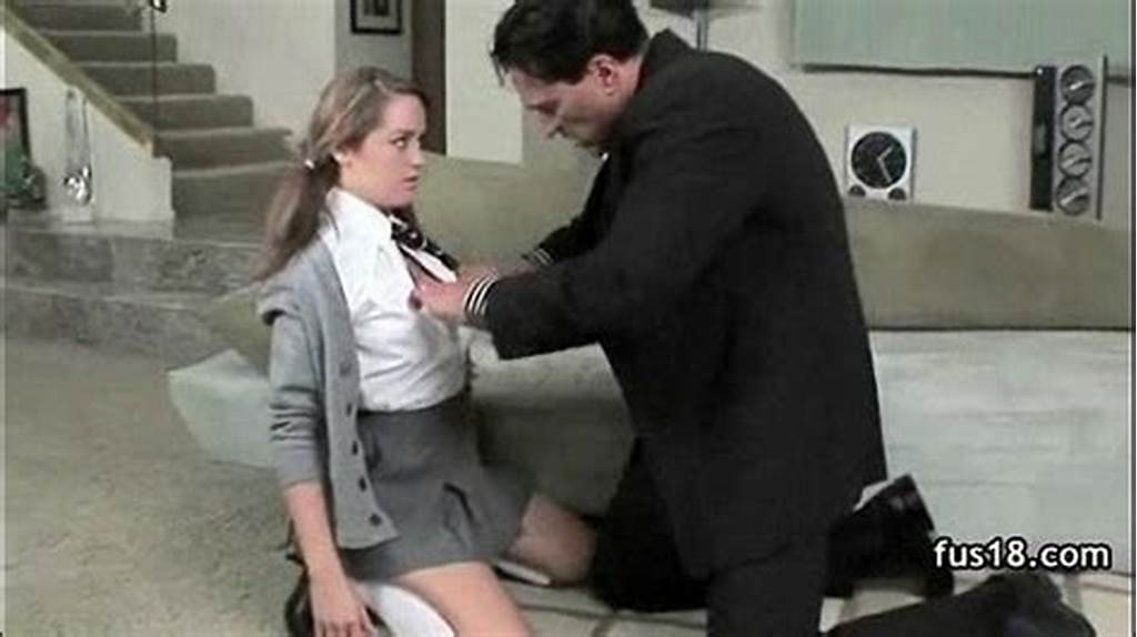 #Beautiful #Teen #Girl #With #Awesome #Ass #In #School #Uniform