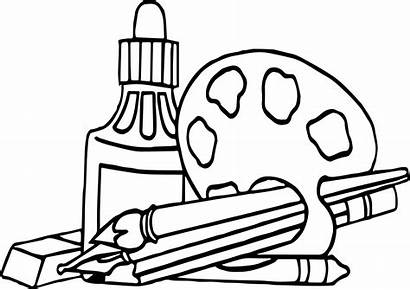 Coloring Supplies Pages Nap Wecoloringpage Printable Getdrawings