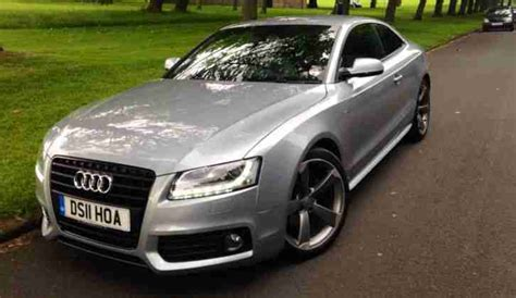 audi     black edition coupe silver car  sale