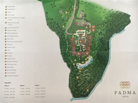 padma resort map rolling   kids