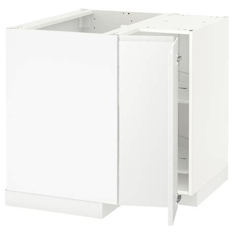 ikea corner base cabinet metod corner base cabinet with carousel white voxtorp