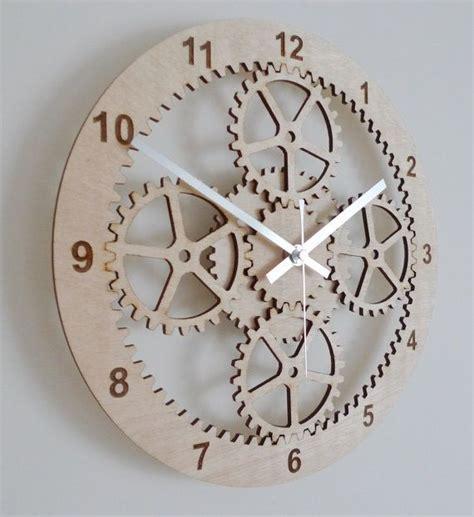 laser cut planetary gears wall clock  beamdesigns