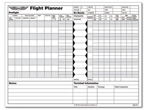 flight planner pad