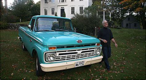 putting life  rewind   vintage pickup truck